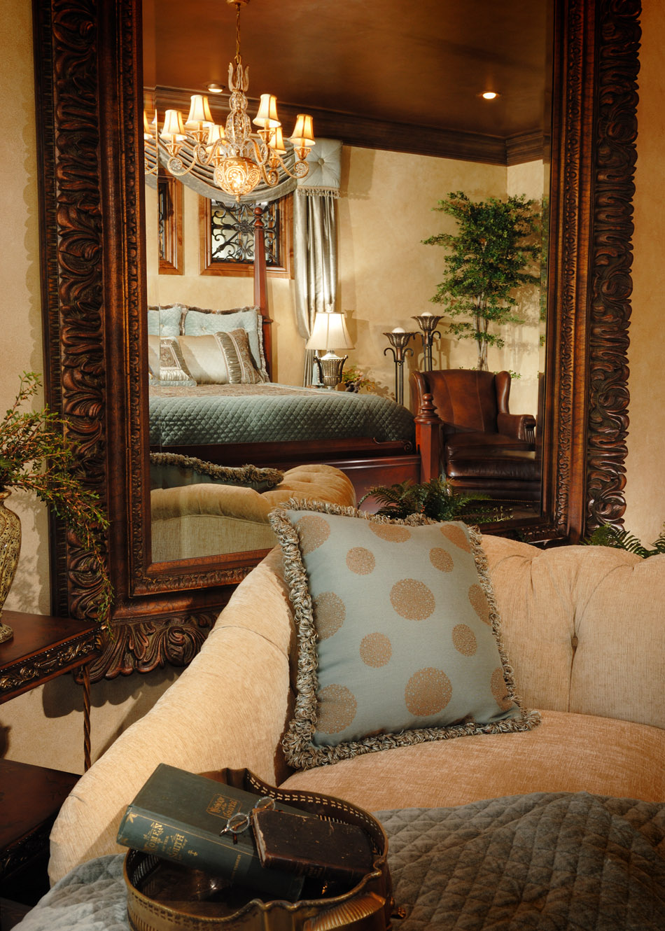 The abc s of decorating m is for mirrors decorating for Den interior design